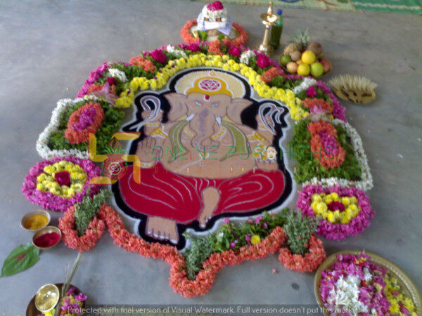 ganapathi pooja & veda Parayanam